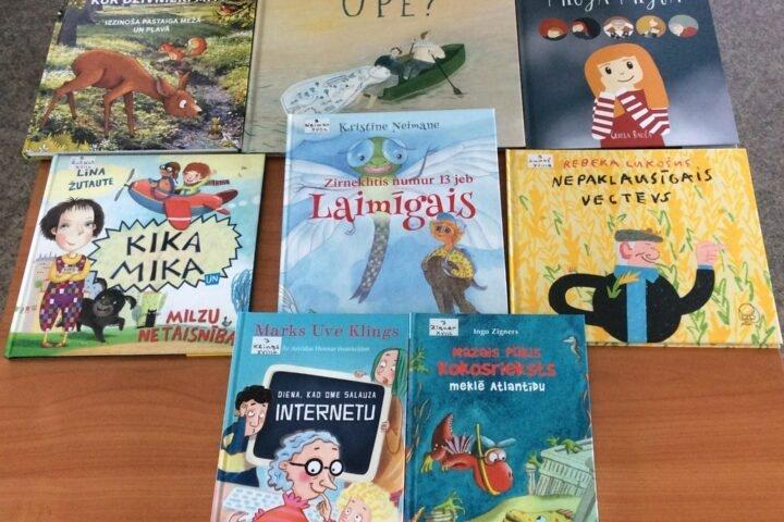 Jaunās grāmatas bērniem 2021.gada septembrī