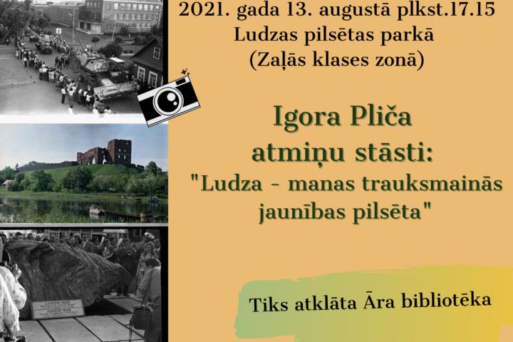 Igora Pliča atmiņu stāsti