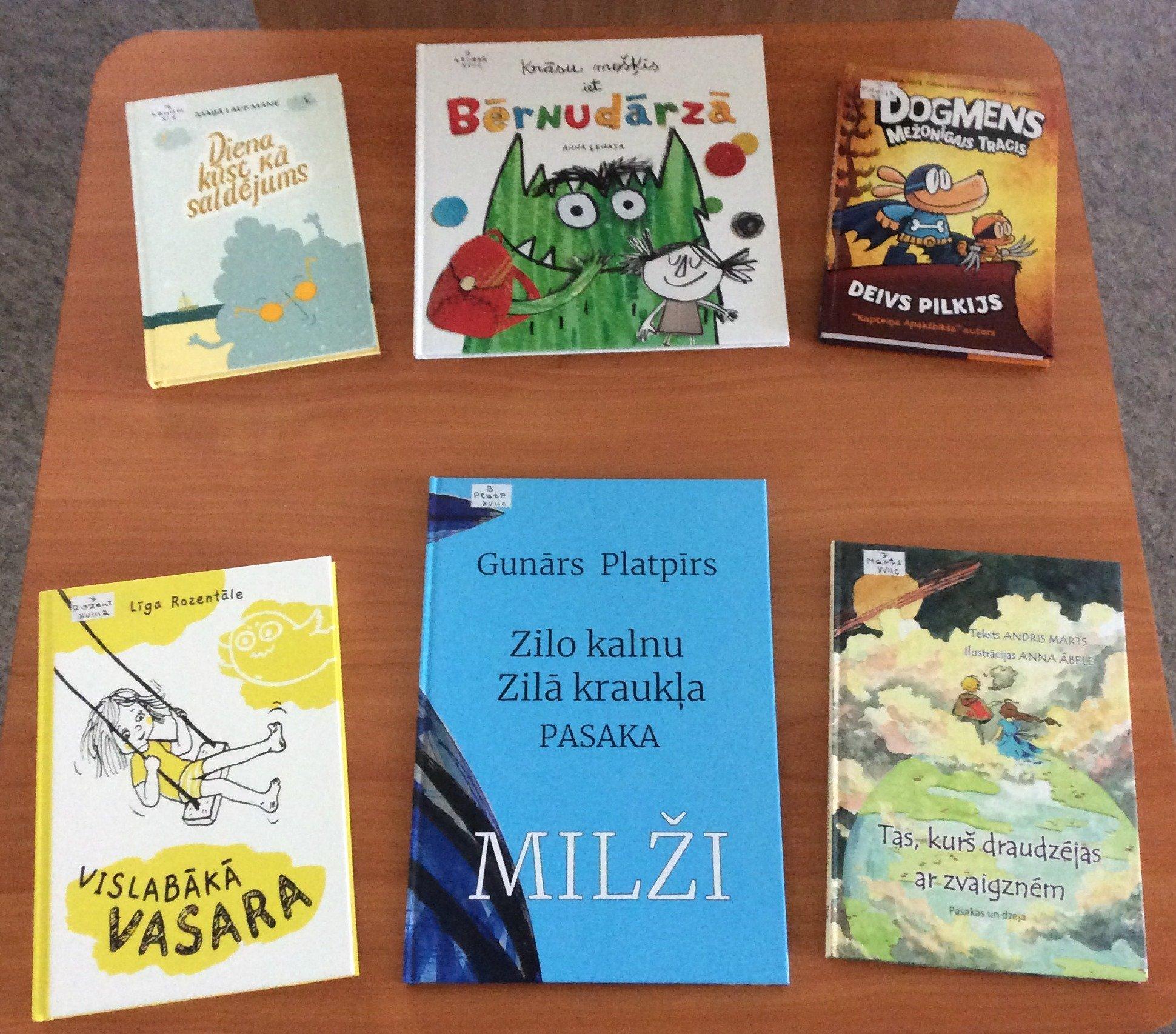 Jaunās grāmatas bērniem 2021.gada oktobrī